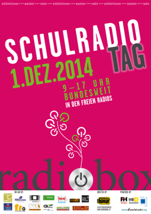 Plakat Schulradiotag 2014