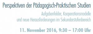 Perspektiven der Pädagogisch-Praktischen Studien @ Pädagogische Hochschule Oberösterreich | Linz | Oberösterreich | Österreich