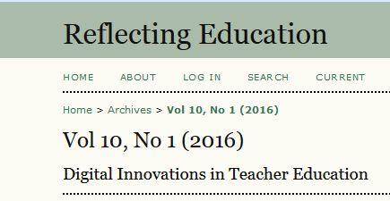 reflecting education